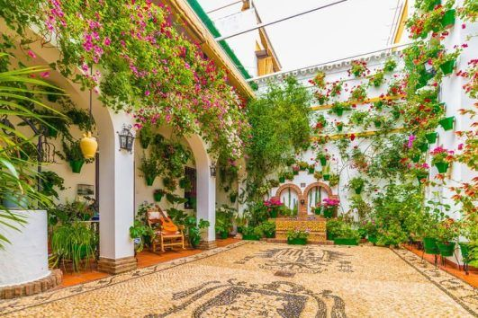 Cordoba Flower Patios - What to See and Do in Cordoba Andalusia - Muslim firendly