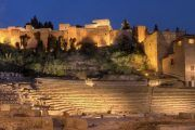 Roman Theather Muslim friendly travel to Malaga Andalusia