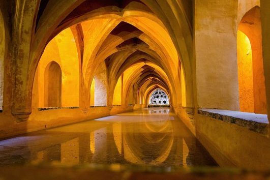 Royal Alcazar of Seville Muslim friendly travel Andalusia Spain